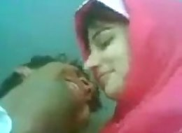 very Hot Pakistani Couple Kissing