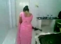 pink saree wife-(sexmasti.org)