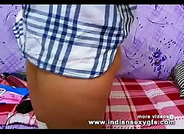 Tina Indian College Teen on live webcam chat - indiansexygfs.com